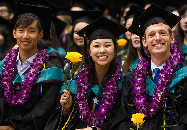 GPS Commencement 2019 students