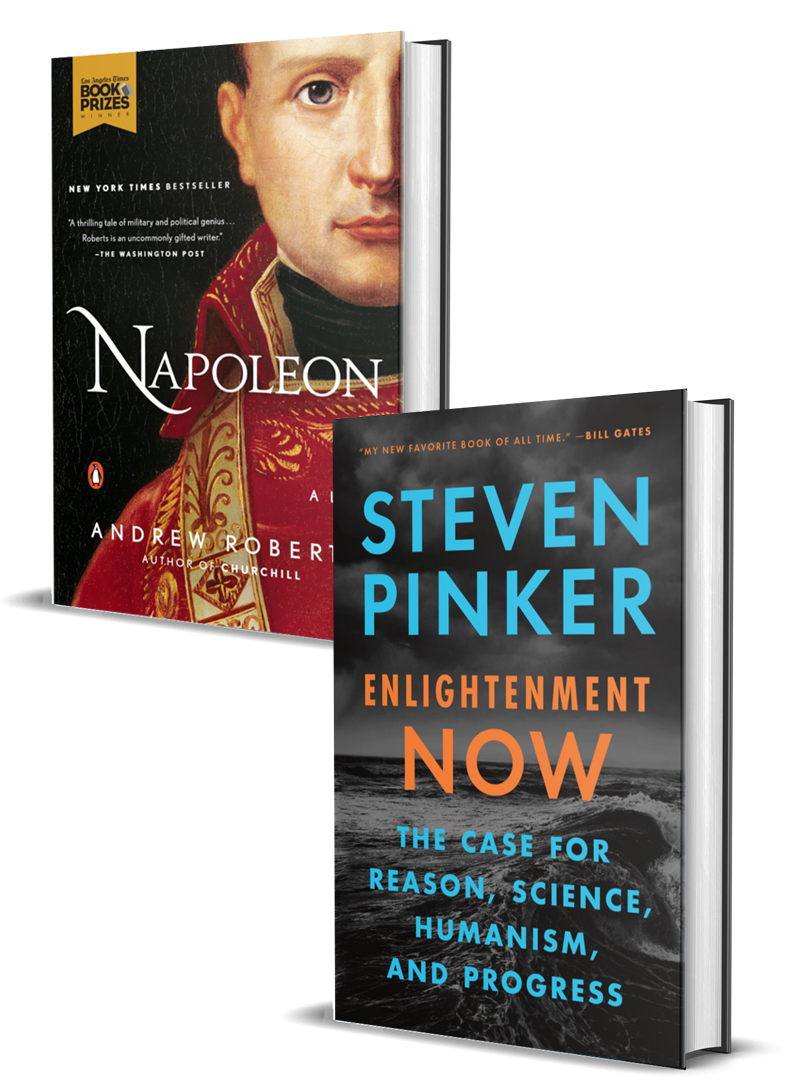 Napoleon: A Life and Enlightenment Now