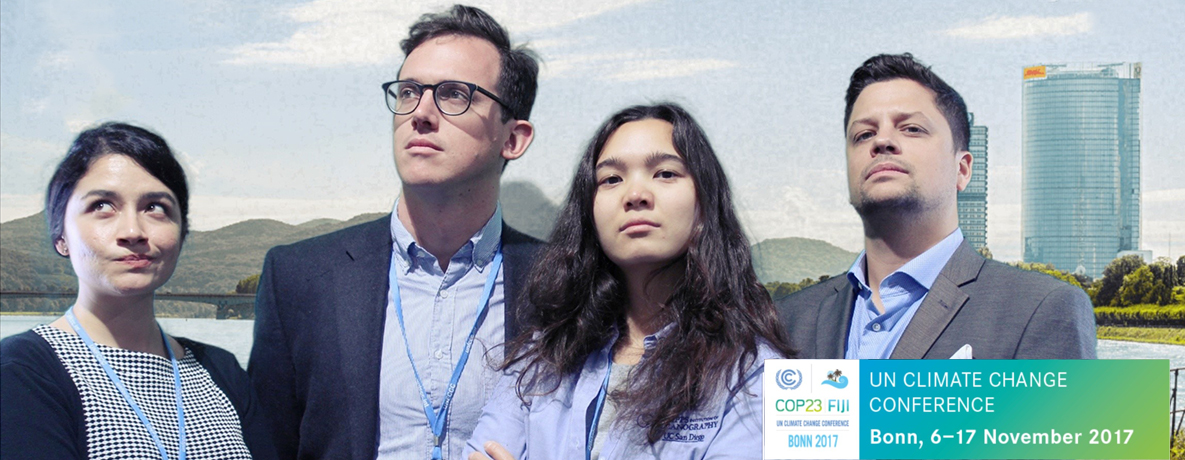 GPS students at COP23