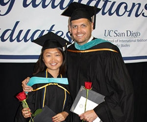 Yihua (Shi) '14 and Steve Astle '14
