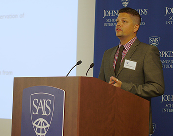 Frederick Hemans at SAIS