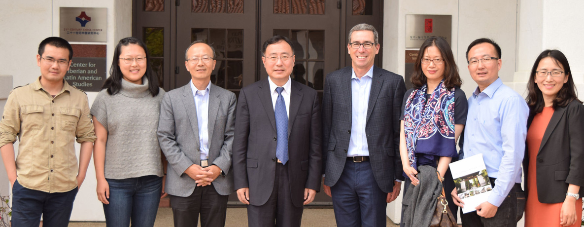 View more photos from the Fudan University delegation's visit