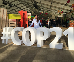 Shayla Ragimov at COP21