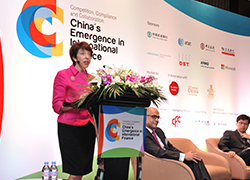 Susan Shirk, 21st Century China Program Conference
